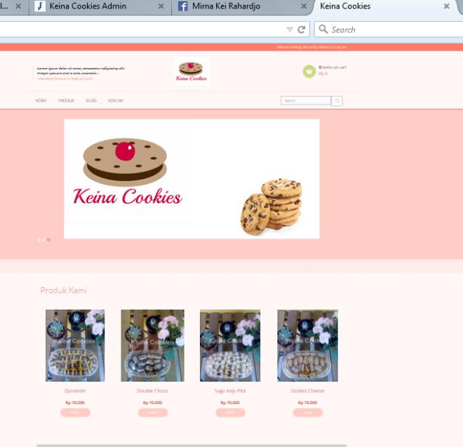 keina cookies online store