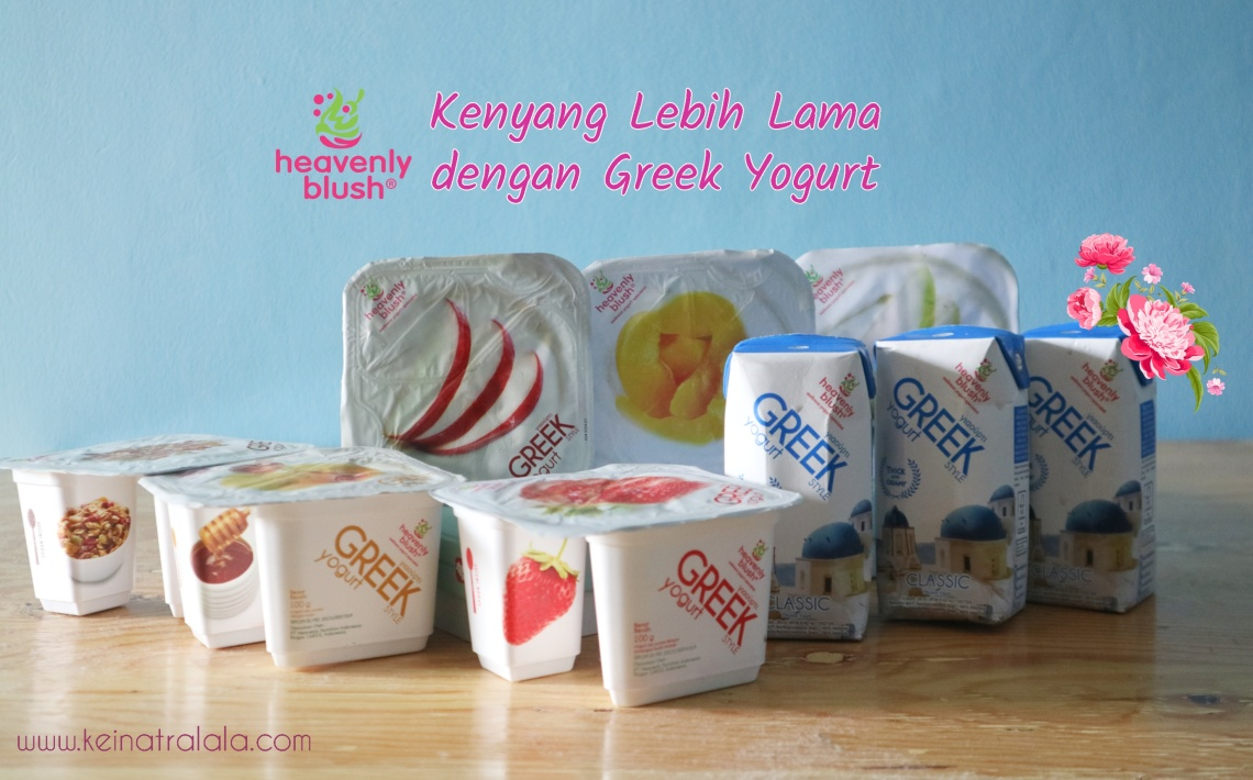 heavenly blush greek yogurt tinggi protein